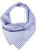 Blue Stripe Dog Bandana