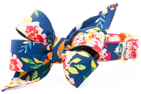 Kay's Bouquets Belle Bow Dog Collar