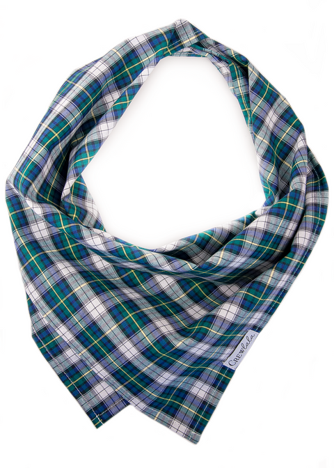 Bogard Plaid Dog Bandana