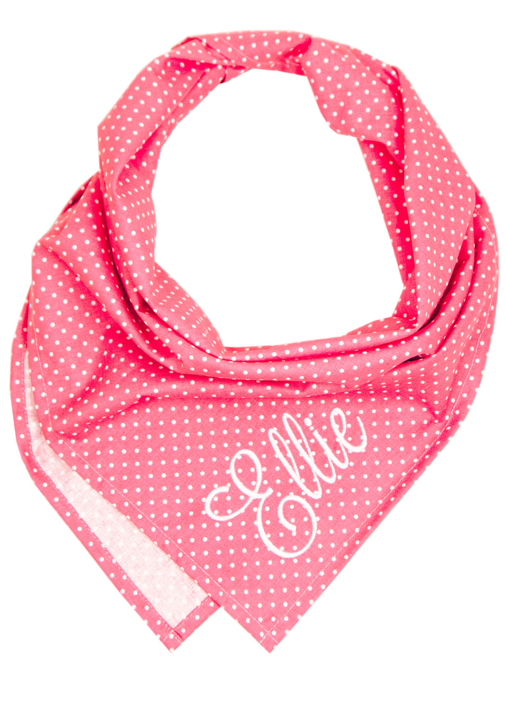 Pink Dot Dog Bandana