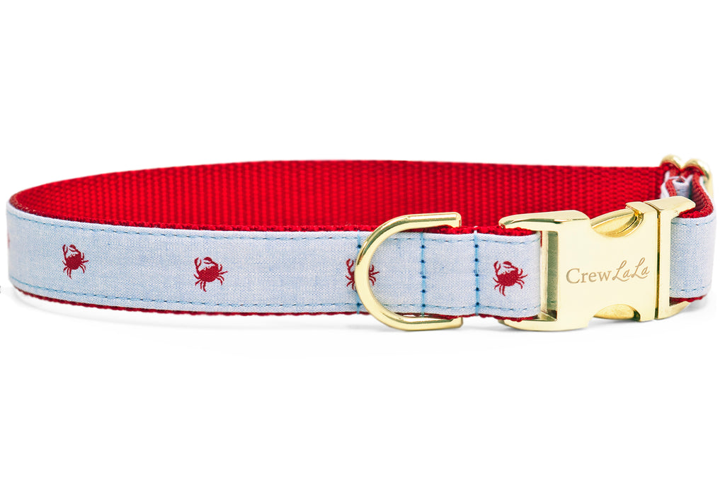 Feeling Crabby Dog Collar