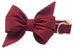 Crimson Belle Bow™ Dog Collar