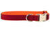 Virginia Tech Burnt Orange on Crimson Belle Bow Dog Collar