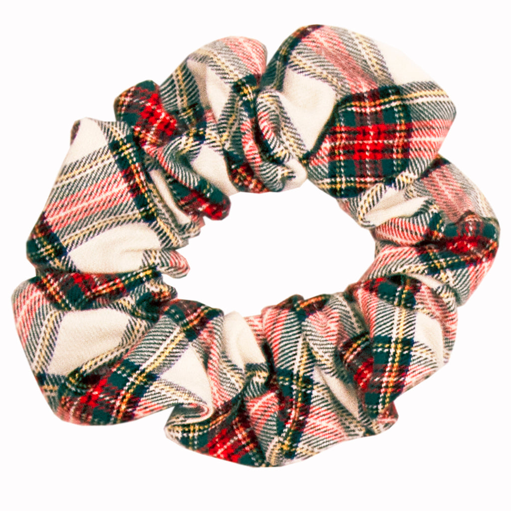 Ellie's Plaid Scrunchie