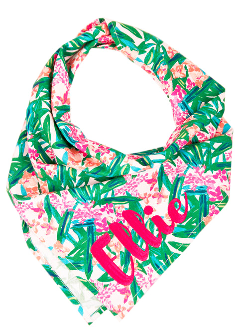 Tropical Paradise Dog Bandana
