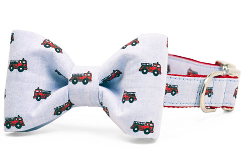 Station 10 Bow Tie Dog Collar