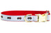 Station 10 Belle Bow Dog Collar
