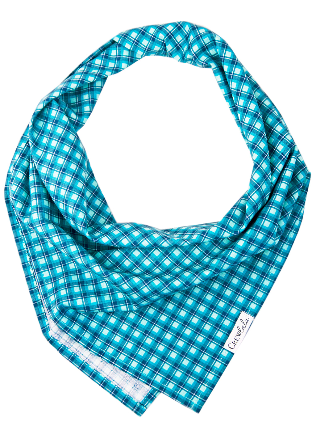 Coastal Plaid Dog Bandana