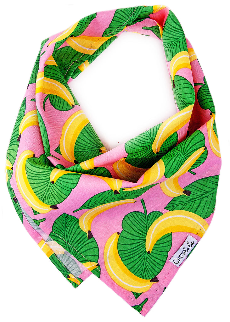 Goin' Bananas Dog Bandana