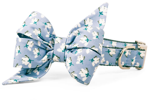 High Cotton Belle Bow Dog Collar