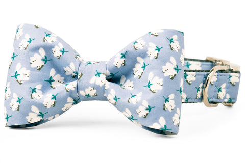 High Cotton Bow Tie Dog Collar
