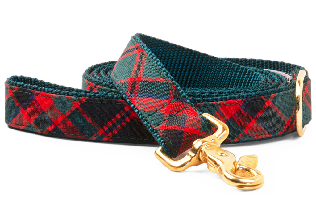 Holiday Plaid Matching Leash