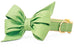 Laurel Green Belle Bow Dog Collar