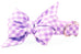Lavender Picnic Plaid Belle Bow™ Dog Collar