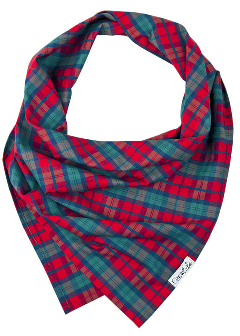 Luke's Plaid Dog Bandana