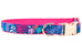Summer Safari Belle Bow Dog Collar