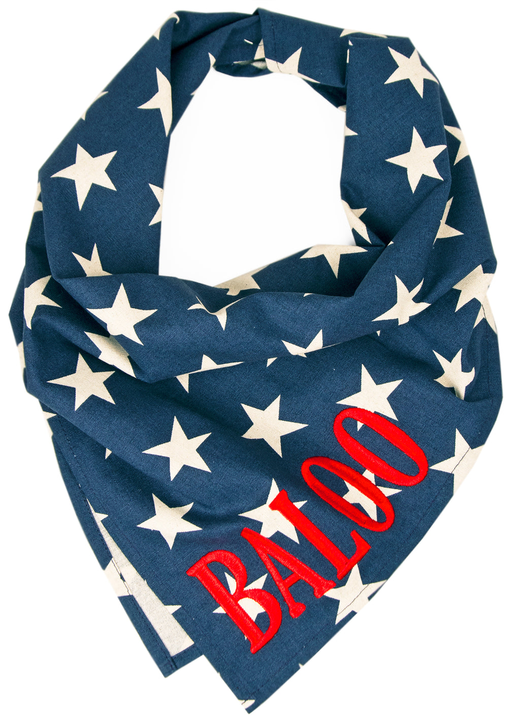Star Spangled Dog Bandana