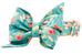 Blooming Wildflowers Belle Bow Dog Collar