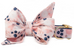 Indigo Blooms Belle Bow Dog Collar