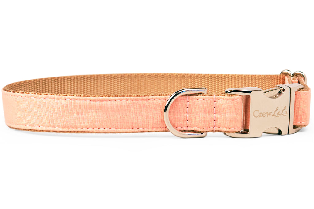Peach Dog Collar