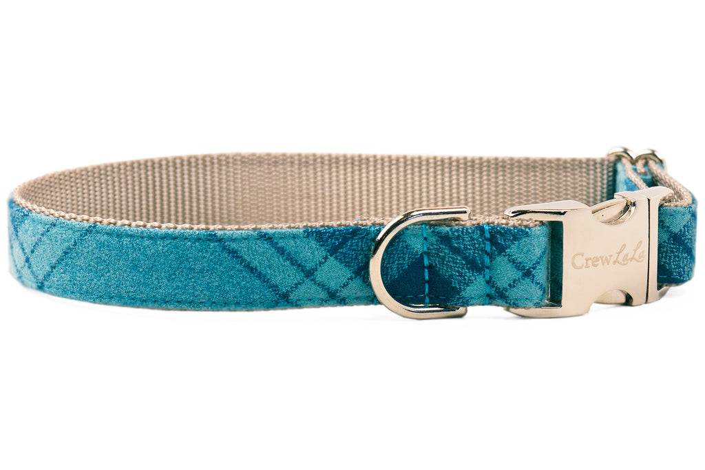 Gus Flannel Dog Collar
