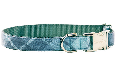 Grey's Flannel Dog Collar