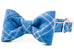 Steamboat Flannel Bow Tie Dog Collar