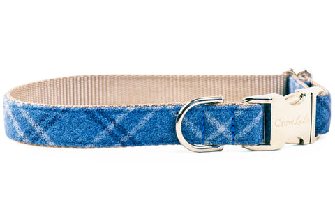 Steamboat Flannel Dog Collar