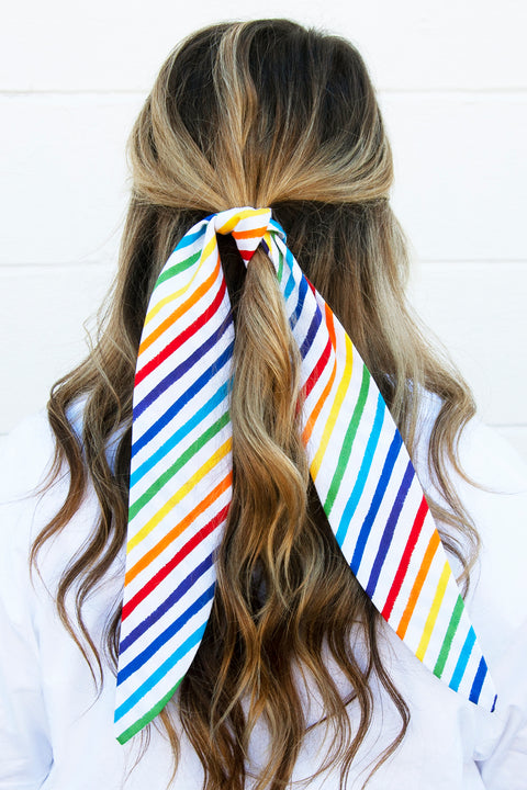 Proud Rainbow Hair Tie