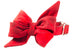 Clifford Flannel Belle Bow Dog Collar