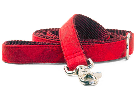 Clifford Flannel Matching Leash