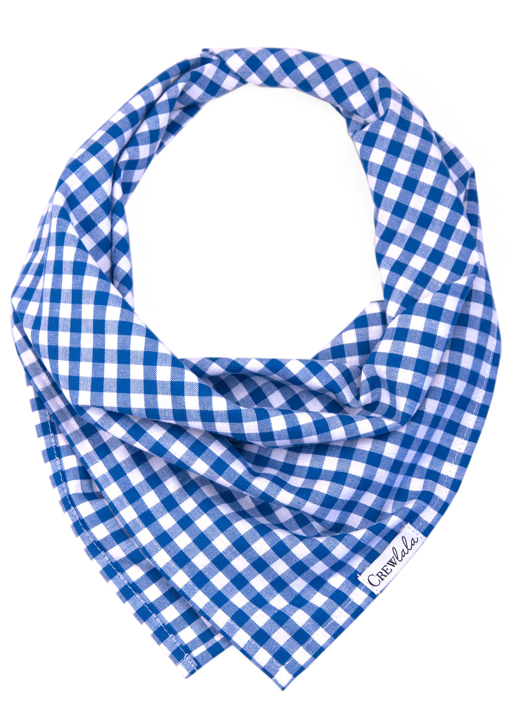 Royal Blue Picnic Plaid Dog Bandana