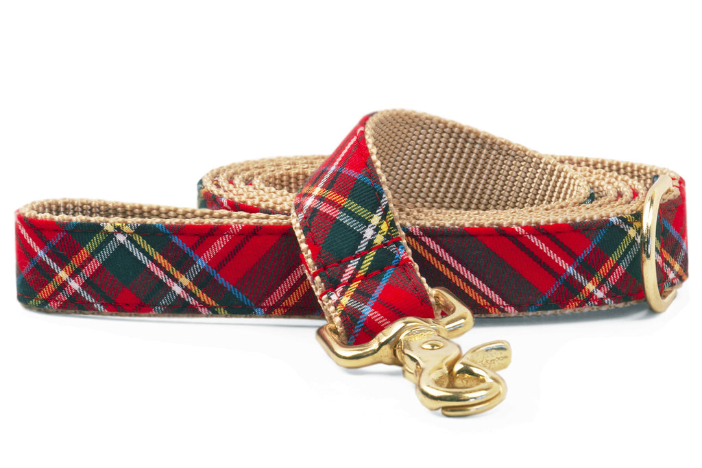 Scottish Tartan Matching Leash