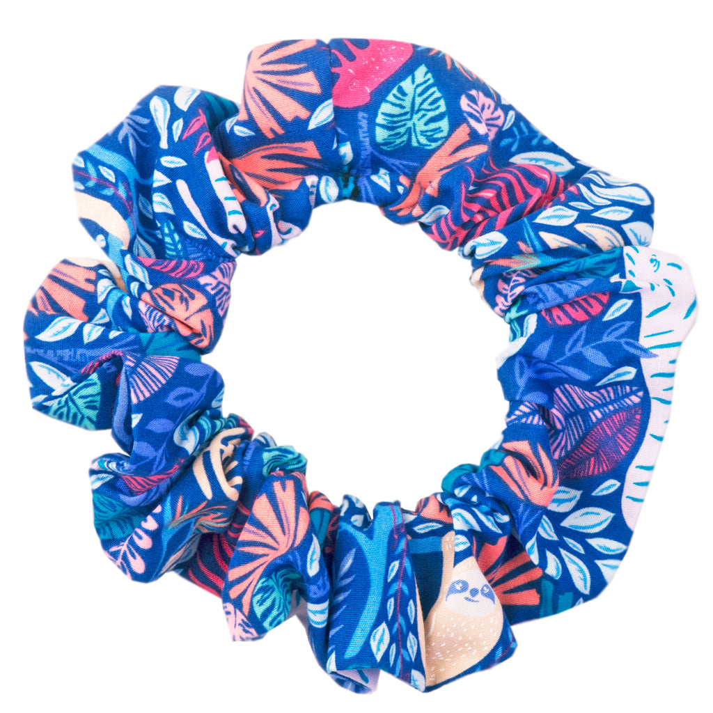 Summer Safari Scrunchie