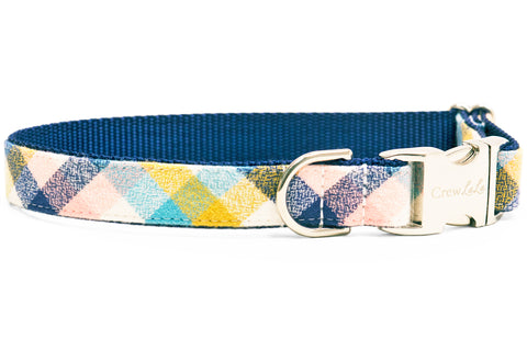 Sun Valley Flannel Dog Collar