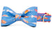Super Fly Bow Tie Dog Collar