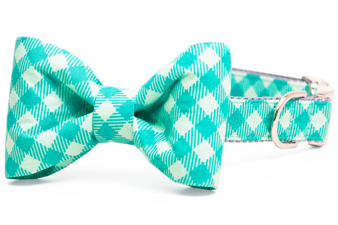 Felix Plaid Bow Tie Collar