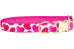 Tinder Hearts Belle Bow Dog Collar