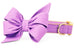 Wisteria Purple Belle Bow™ Dog Collar