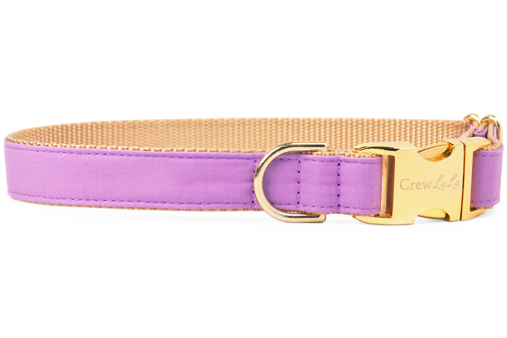 Wisteria Purple Dog Collar