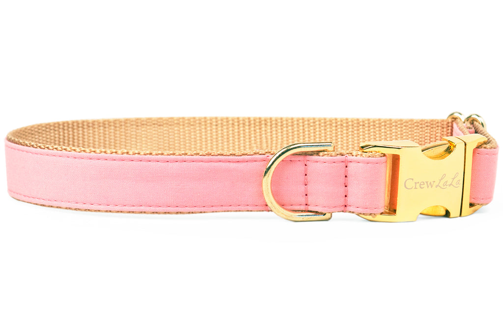 Woodrose Pink Dog Collar