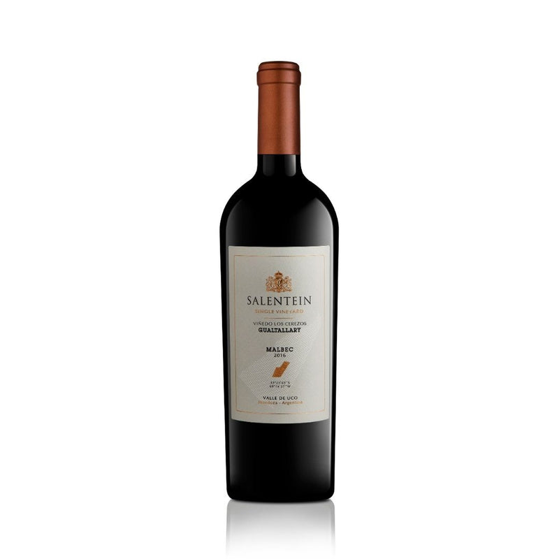 Salentein Single Vineyard Los Cerezos Gualtallary Malbec 2016 Vino Salentein