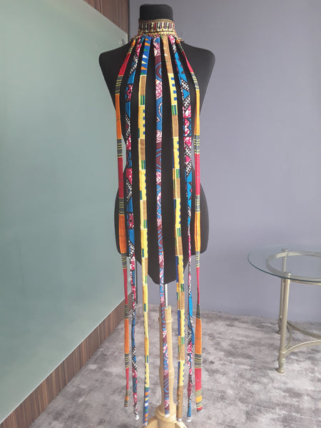 Imara Fringe Necklace (Divine)