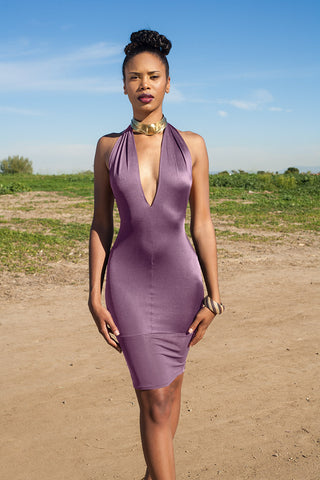 Purple Diva Dress
