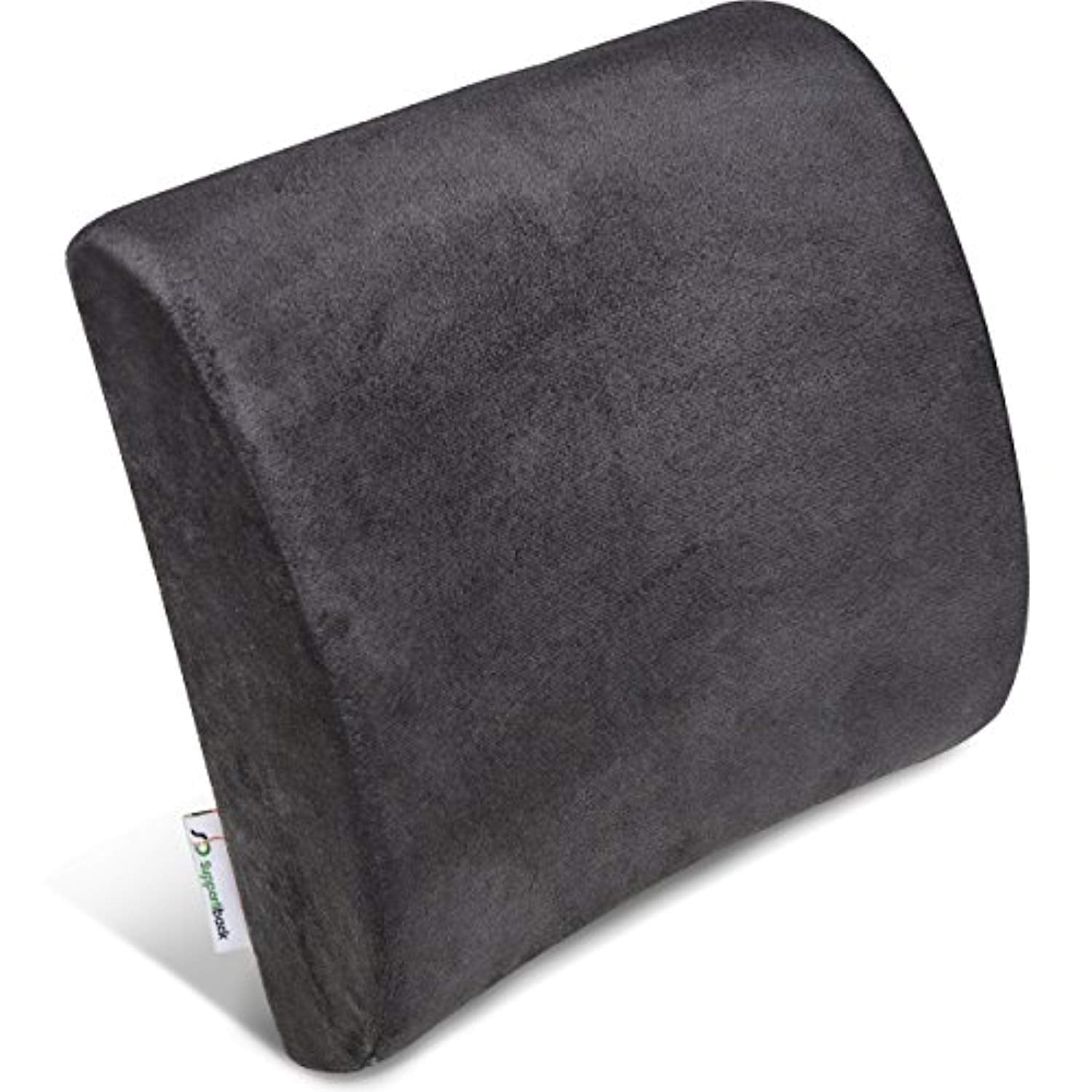 Posture Therapy Memory Foam Lumbar Support Cushion
