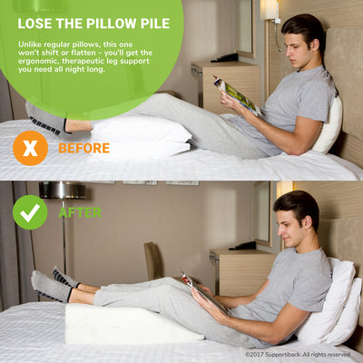 Comfort Therapy Memory Foam Leg Rest Pillow