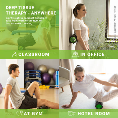 Deep Tissue Therapy Foam Muscle Roller