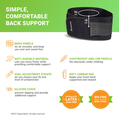 Posture Therapy Lumbar Belt