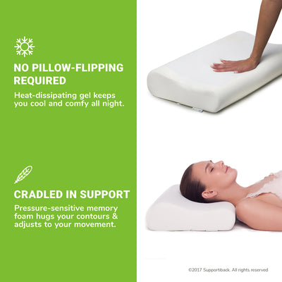 Comfort Therapy Memory Foam Pillow
