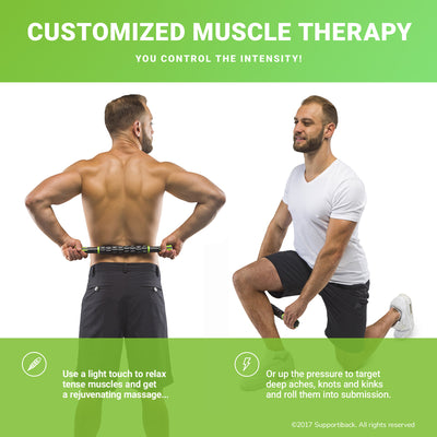 Deep-Tissue Therapy Massage Roller Stick